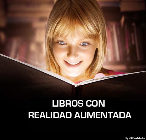 Libros con Realidad Aumentada