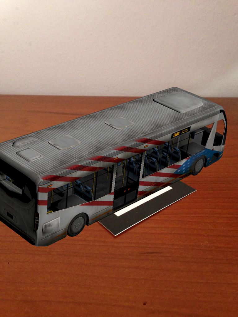 Realidad Aumentada bus