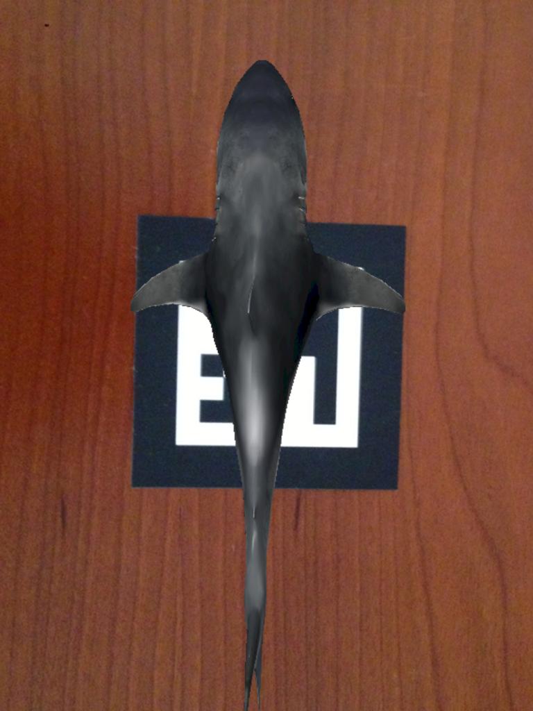 Realidad Aumentada shark