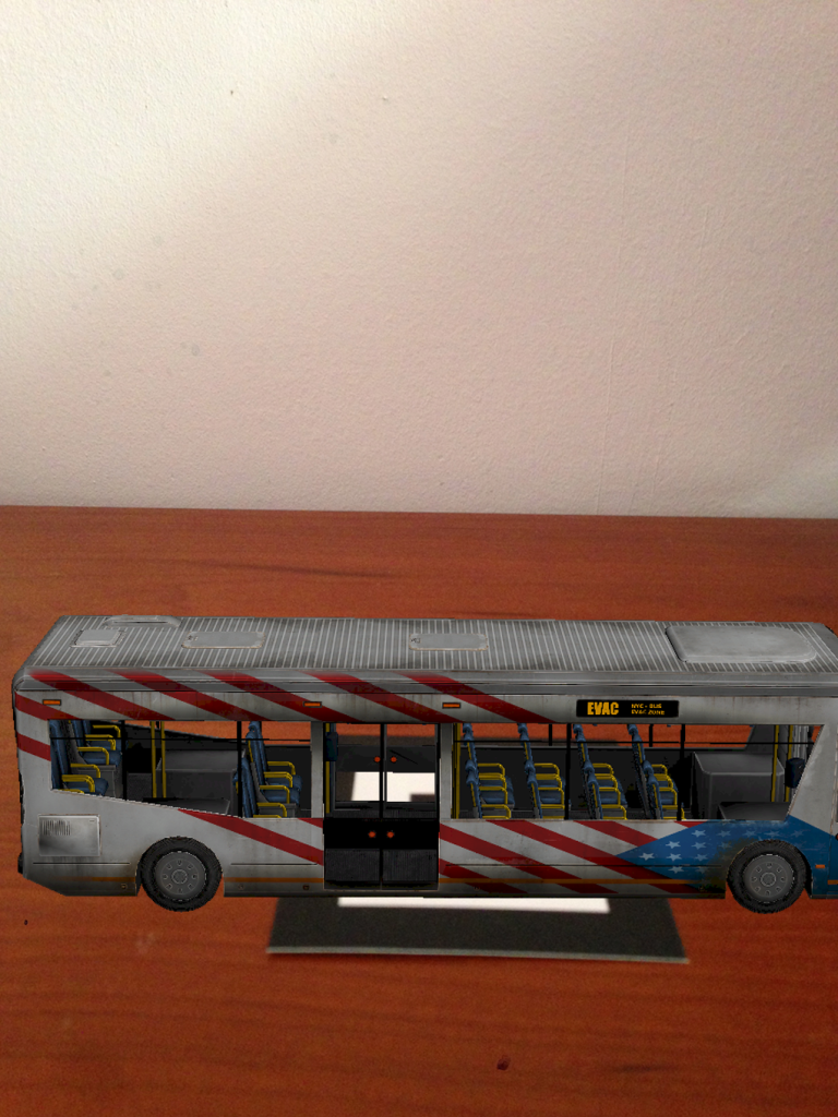 Realidad Aumentada transporte